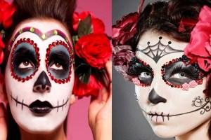 Cómo maquillarse de catrina para Halloween