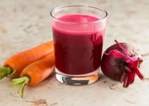 Jugo de remolacha y zanahoria para fortalecer el sistema inmunológico