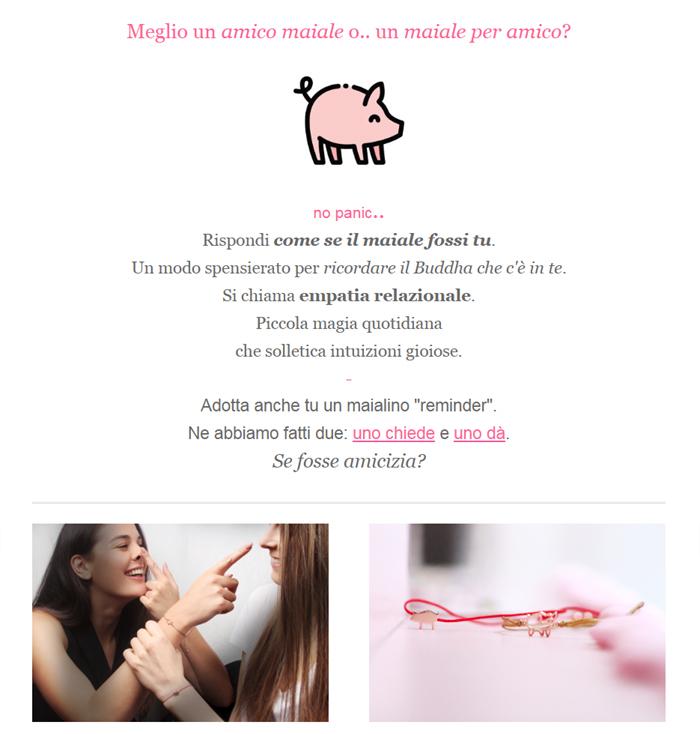 Newsletter _ un maiale x amico _ giugno 2019 _ maschio gioielli