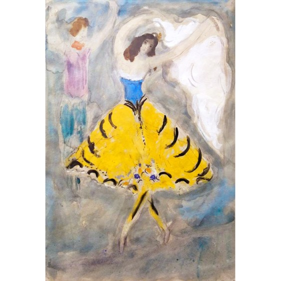 chagall-yellow-gown