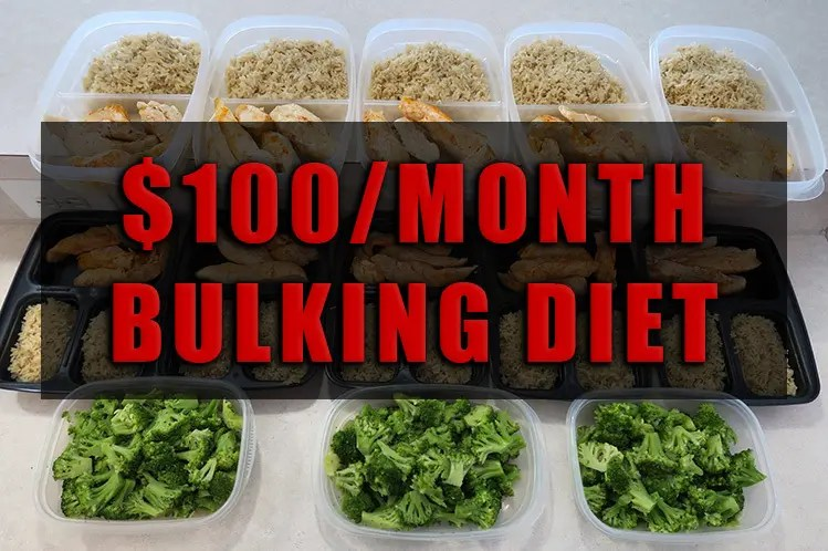 bulking diet plan