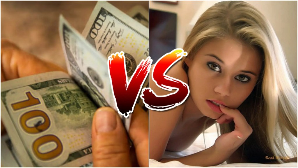 women vs money