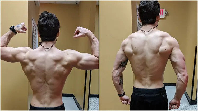 RAD 140 results with back pictures