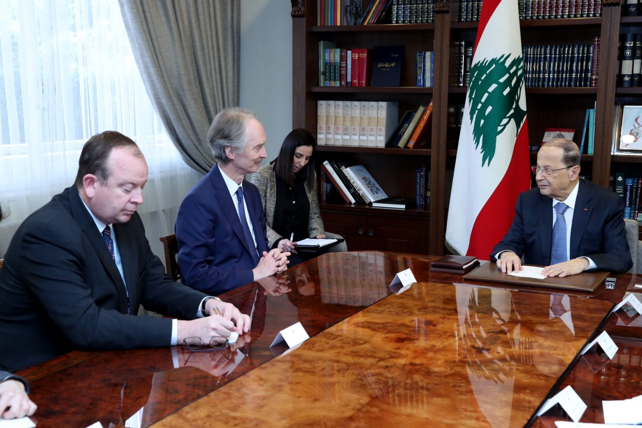 عون لبيدرسون: 172 الف سوري عادوا... ولم يصلنا اي تقرير عن تعرضهم لمضايقات