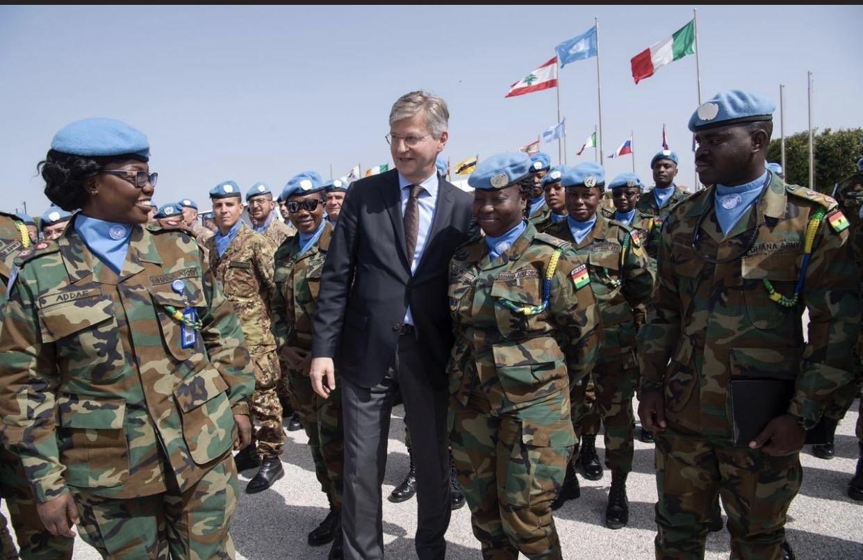 لاكروا مختتما زيارته الى لبنان: لضمان حرية حركة قوات