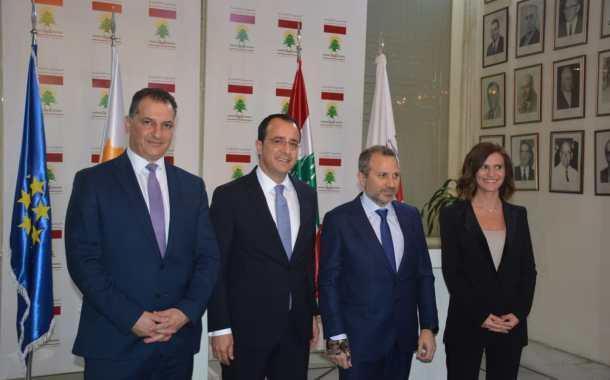 مشروع لبناني قبرصي لمدّ أنابيب الغاز بين البلدين وباسيل يدعو للإسراع في الإتفاقيات الثنائية...