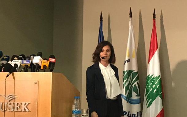 وزيرة الطاقة ندى البستاني تشرح خطّة الكهرباء للرأي العام: وقف الهدر أولوية