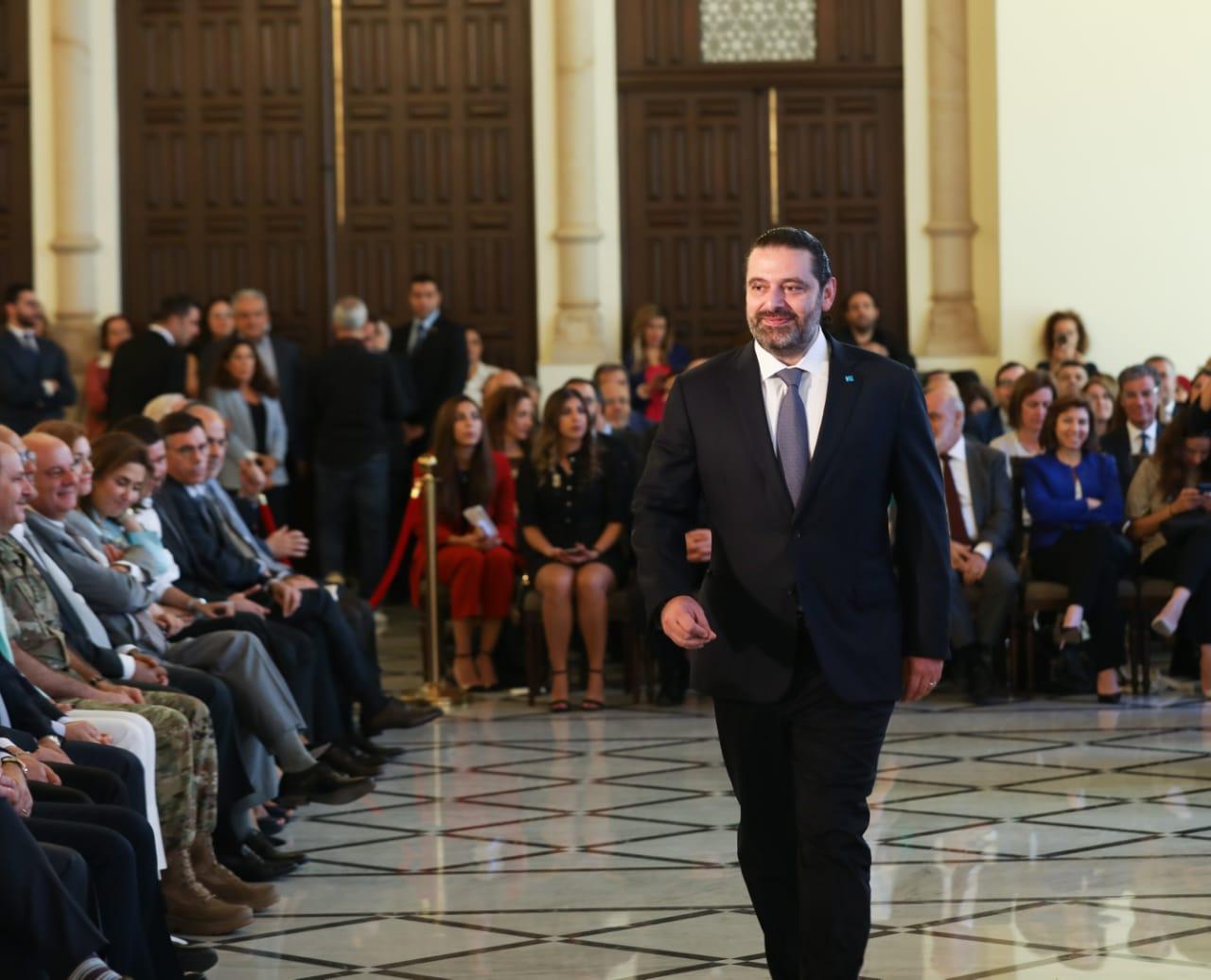 الحريري لباسيل: زيارة سوريا شأنك الخاص...واذا لم نوقف الأزمة الإقتصادية ستنقلب الطاولة على رؤوس الجميع
