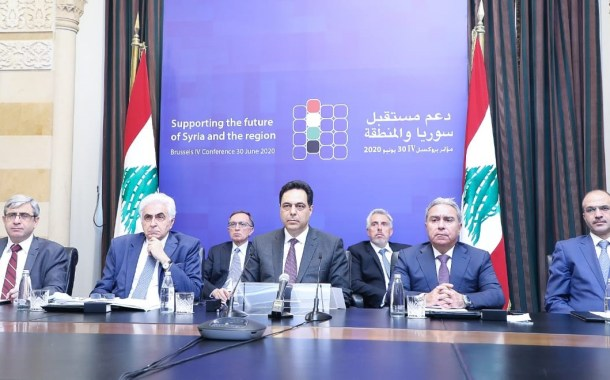 دياب للمؤتمرين في بروكسيل (4): كلفة النزوح السوري في لبنان فاقت الـ40 مليار دولار