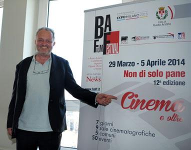 Steve Della Casa alla conferenza stampa milanese - Photo by Nick Zonna