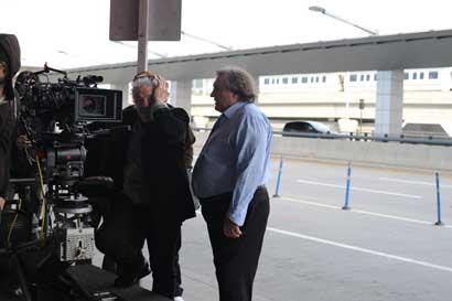 """Il regista di """"Welcome to New York"""" Abel Ferrara e l'attore Gérard Depardieu Photo: courtesy of BIM"""