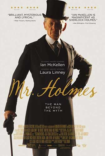 Mr Holmes poster film