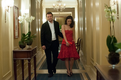 Liam Neeson e Olivia Wilde in THIRD PERSON - Photo: courtesy of M2Pictures