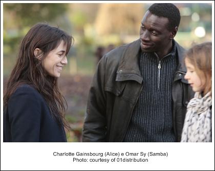 3 Charlotte Gainsbourgh-Alice e Omar Sy-Samba