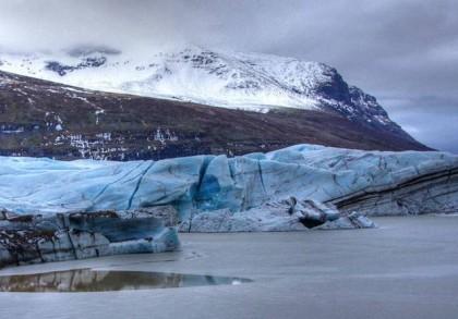 Il ghiacciaio di Svinafellsjokull