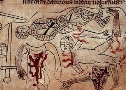 Lo smembramento dei cadaveri in un codice trecentesco