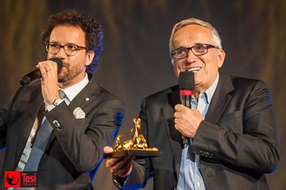 Il Direttore Artistico Carlo Chatrian con Marco Bellocchio © Tosi-Photography