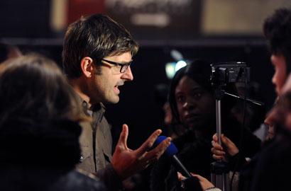Louis Theroux al BFI LFF - Photo: Stuart C. Wilson/ Getty Images