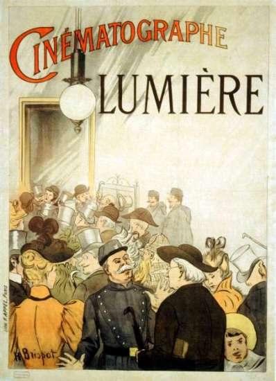 Manifesto del cinema Lumière del 1895