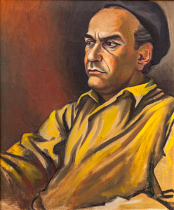 Ritratto di Corrado Cagli 1956