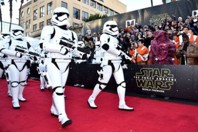 """Star Wars: The Force Awakens"" world premiere - Photo by Alberto E. Rodriguez/ Getty Images for Disney"