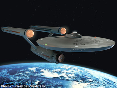 La USS Enterprise - Photo: courtesy of CBS Studios Inc