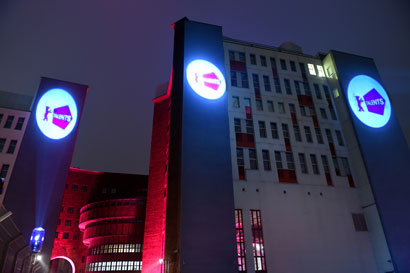 The ewerk,venue of the Berlinale Talents Dine and Shine - Photo by Peter Himsel, Berlinale 2016
