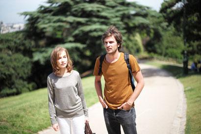 Isabelle Huppert e Roman Kolinka in L'Avenir - Photo: courtesy of Berlinale