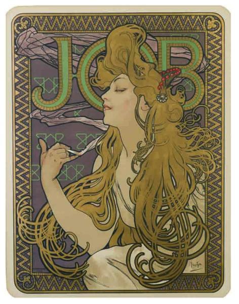 Alfons Mucha, Job, 1896.