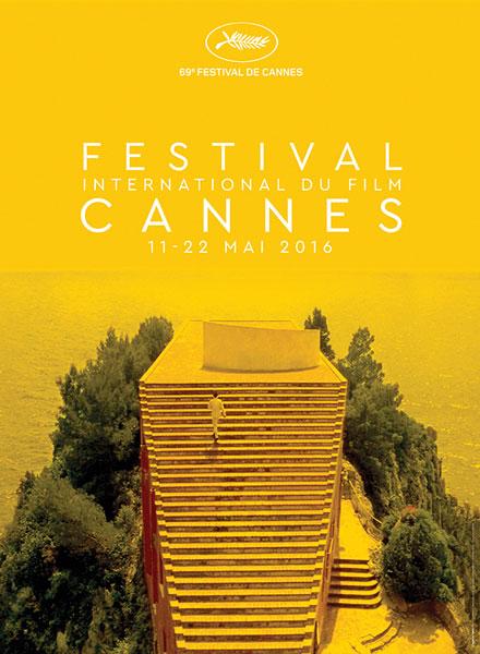 Festival de Cannes 2016 poster ufficiale