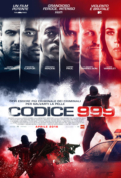 codice 999 poster
