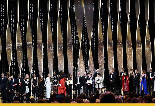 I vincitori del 69° Festival de Cannes © Alberto Pizzoli / AFP