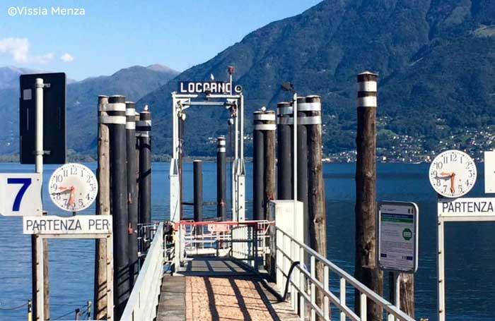 L'embarcadero di Locarno ©Vissia Menza