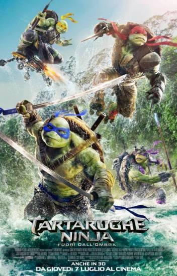 Il poster italiano di Tartarughe Ninja - Fuori dall'Ombra
