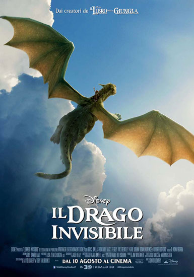 Il poster del film Il Drago Invisibile