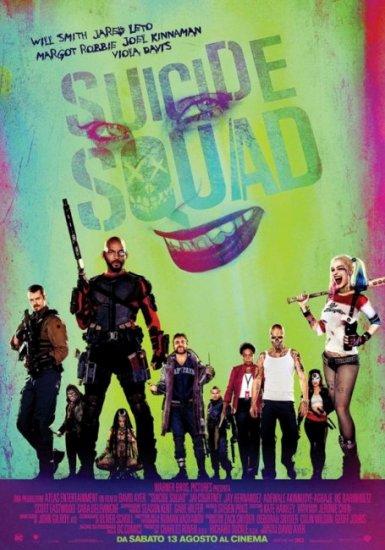 Il poster italiano di Suicide Squad