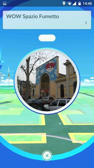 Pokémon GO con WOW Spazio Fumetto