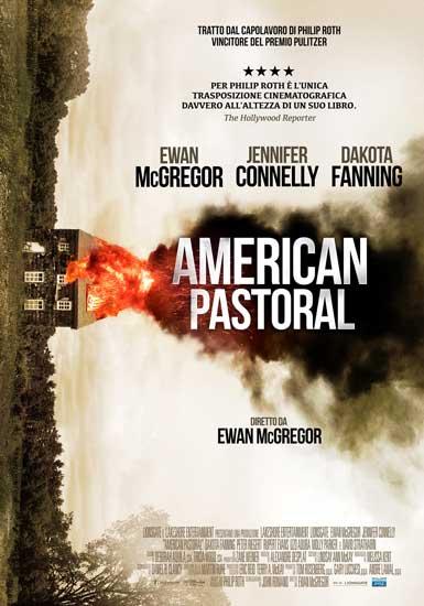 Il poster italiano del film AMERICAN PASTORAL