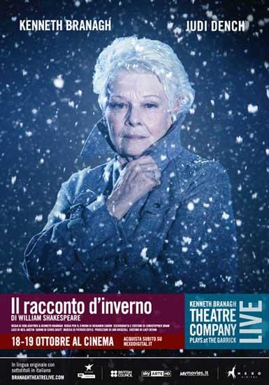 Il poster italiano de Il Racconto d'Inverno di Kenneth Branagh
