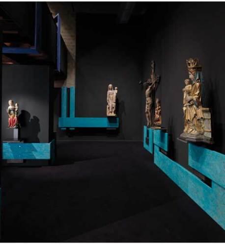 La sala del Medioevo - Foto di Enrico Cano