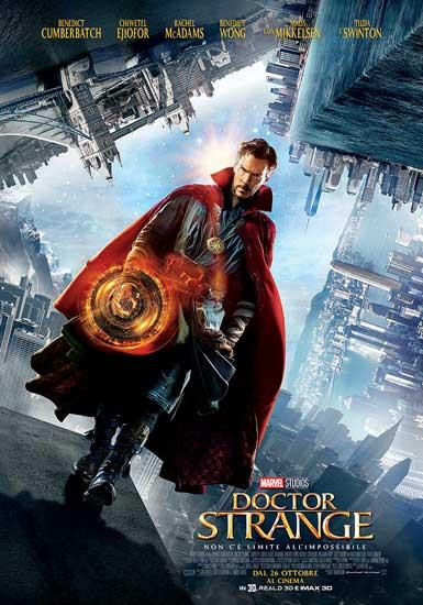 Il poster italiano del film Doctor Strange