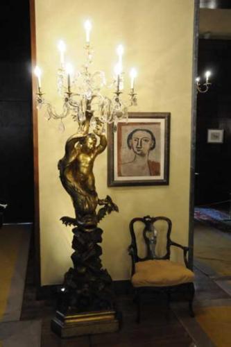 Villa Necchi lampadario