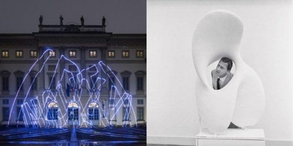 Arte contemporanea in mostra a Milano Arthur Duff e una foto di Alberto Sordi