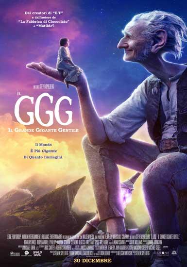 Il poster italiano del film Il GGG - Il Grande Gigante Gentile