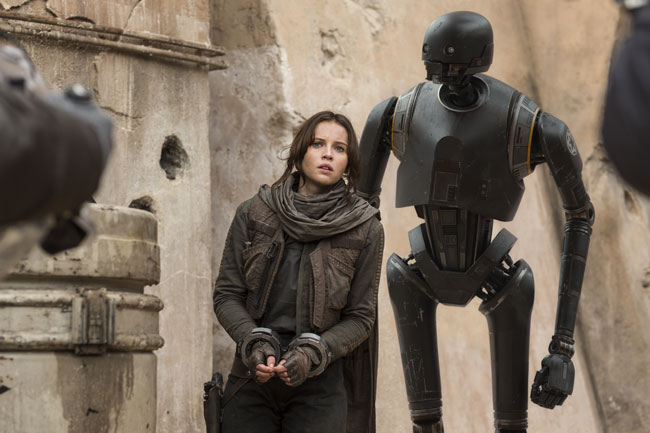 Un'immagine di Rogue One: A Star Wars Story - Photo: courtesy of The Walt Disney Company Italia