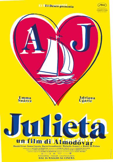 Il poster italiano del film Julieta