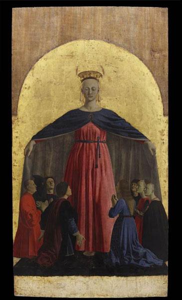 Madonna della Misericordia pannello centrale