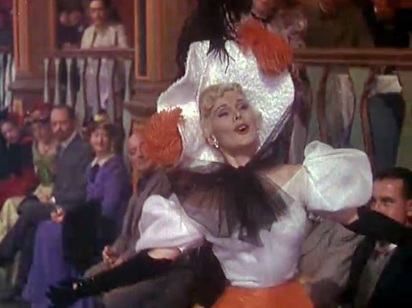 zsa zsa gabor in moulin rouge