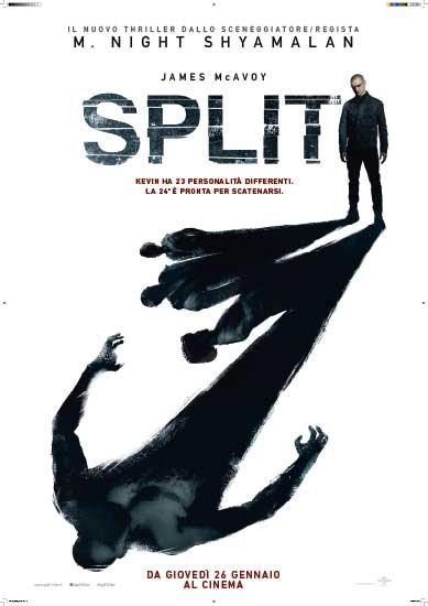 Il poster italiano del film SPLIT