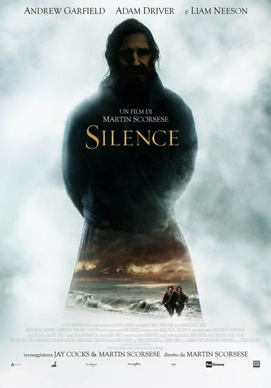 Il poster italiano del film Silence